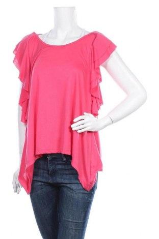 Γυναικεία μπλούζα Red Herring, Μέγεθος XL, Χρώμα Ρόζ , 67% πολυεστέρας, 33% βισκόζη, Τιμή 3,86€