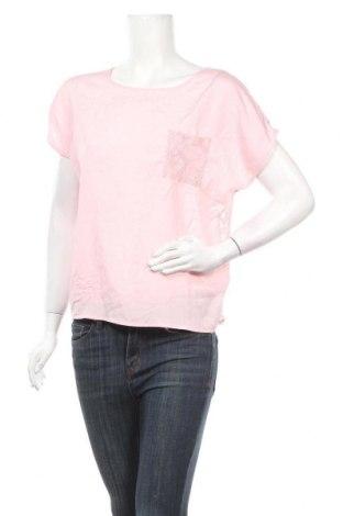 Дамска блуза Sorbet, Размер L, Цвят Розов, 97% полиестер, 3% еластан, Цена 7,88лв.