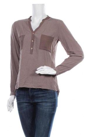 Γυναικεία μπλούζα Susy Mix, Μέγεθος L, Χρώμα Καφέ, Βισκόζη, Τιμή 3,86€