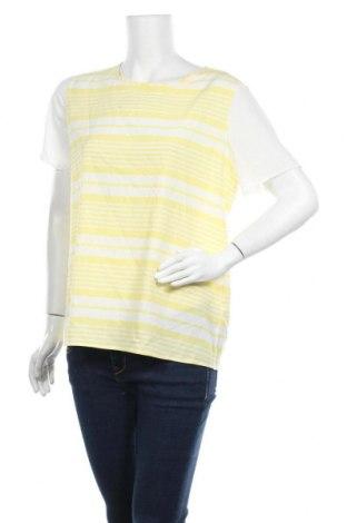 Γυναικεία μπλούζα Suzy Shier, Μέγεθος L, Χρώμα Κίτρινο, 97% πολυεστέρας, 3% ελαστάνη, Τιμή 8,41€
