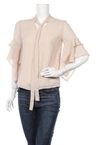 Γυναικεία μπλούζα Suzy Shier, Μέγεθος XS, Χρώμα  Μπέζ, 100% πολυεστέρας, Τιμή 5,85€