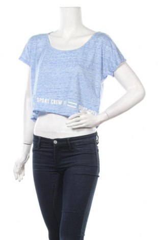 Γυναικεία μπλούζα Tex, Μέγεθος M, Χρώμα Μπλέ, 90% πολυεστέρας, 10% βαμβάκι, Τιμή 3,41€