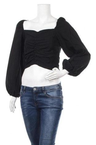 Γυναικεία μπλούζα Topshop, Μέγεθος M, Χρώμα Μαύρο, 72% βισκόζη, 24% πολυαμίδη, 4% ελαστάνη, Τιμή 16,60€