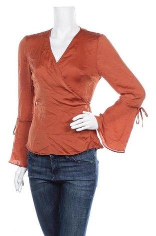 Γυναικεία μπλούζα Topshop, Μέγεθος M, Χρώμα Πορτοκαλί, Πολυεστέρας, Τιμή 9,94€
