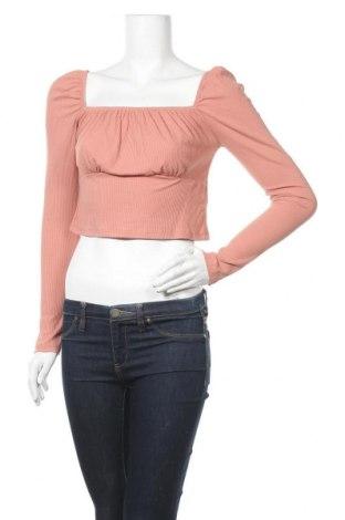 Γυναικεία μπλούζα Topshop, Μέγεθος M, Χρώμα Ρόζ , 93% βισκόζη, 7% ελαστάνη, Τιμή 11,04€