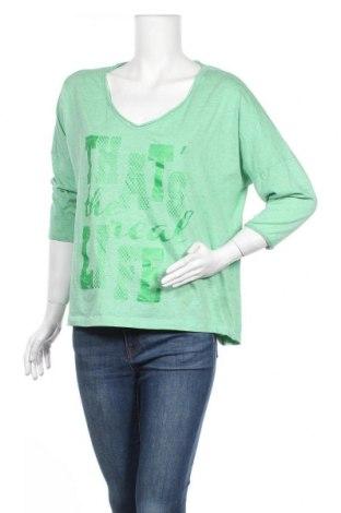 Γυναικεία μπλούζα Up 2 Fashion, Μέγεθος M, Χρώμα Πράσινο, 60% βαμβάκι, 40% πολυεστέρας, Τιμή 4,16€