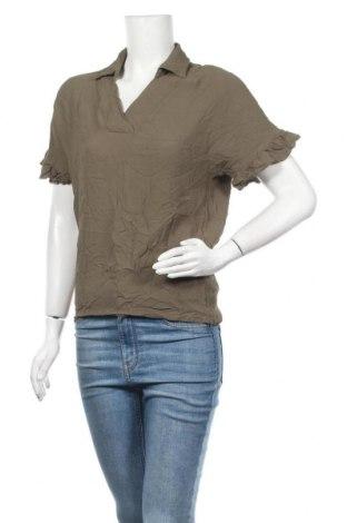 Дамска блуза Vrs Woman, Размер S, Цвят Зелен, Цена 5,00лв.