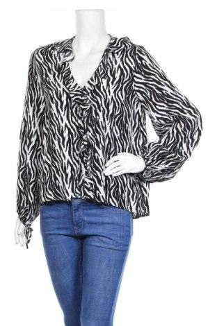 Γυναικεία μπλούζα Zara, Μέγεθος M, Χρώμα Λευκό, Βισκόζη, Τιμή 6,33€