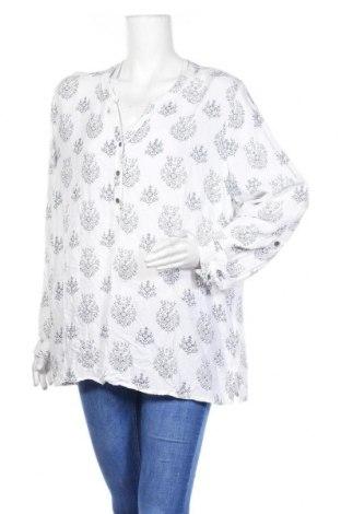 Дамска блуза Zhenzi, Размер XL, Цвят Бял, Вискоза, Цена 14,28лв.
