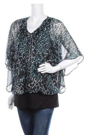 Дамска блуза Zhenzi, Размер L, Цвят Многоцветен, Полиестер, Цена 20,79лв.