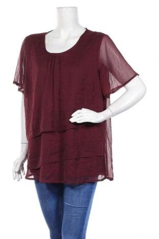 Дамска блуза Zhenzi, Размер M, Цвят Лилав, Полиестер, Цена 4,73лв.