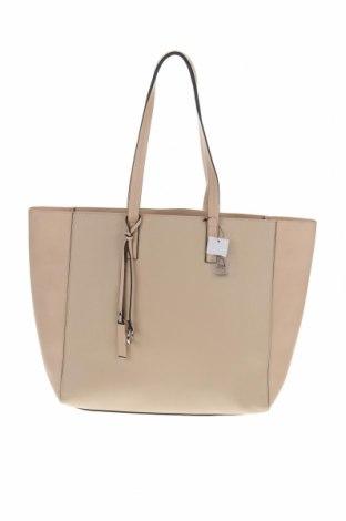 Дамска чанта, Цвят Бежов, Еко кожа, Цена 31,50лв.
