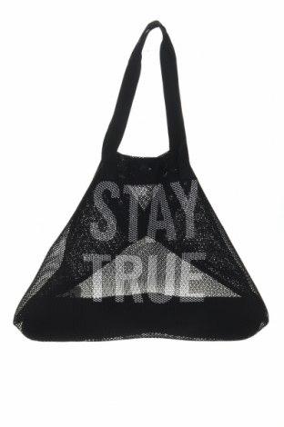 Дамска чанта, Цвят Черен, Текстил, Цена 28,50лв.
