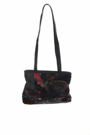 Дамска чанта, Цвят Многоцветен, Текстил, еко кожа, Цена 28,93лв.