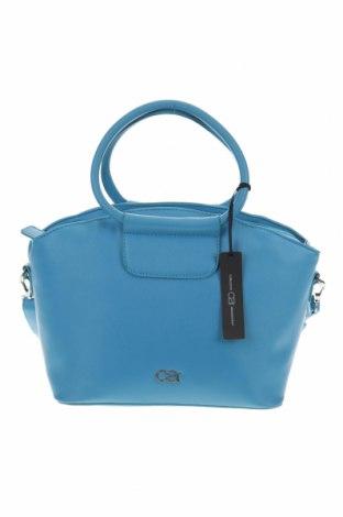 Дамска чанта, Цвят Син, Еко кожа, Цена 53,87лв.