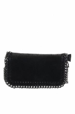 Дамска чанта, Цвят Черен, Естествена кожа, Цена 34,97лв.