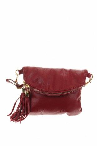 Дамска чанта, Цвят Червен, Естествена кожа, Цена 47,88лв.