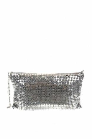 Дамска чанта, Цвят Сребрист, Текстил, Цена 25,52лв.
