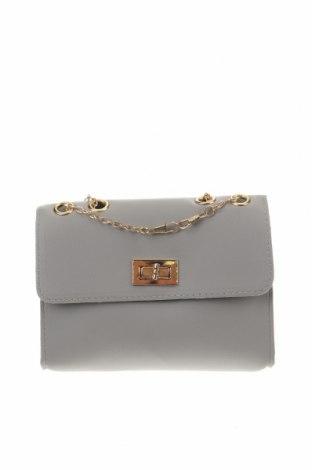 Дамска чанта, Цвят Сив, Еко кожа, Цена 23,63лв.