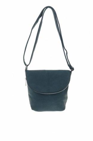 Дамска чанта, Цвят Зелен, Еко кожа, Цена 21,74лв.