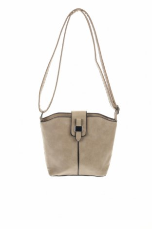 Γυναικεία τσάντα, Χρώμα  Μπέζ, Δερματίνη, Τιμή 14,81€