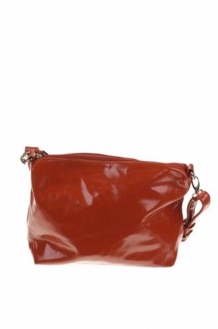 Γυναικεία τσάντα, Χρώμα Πορτοκαλί, Δερματίνη, Τιμή 14,81€