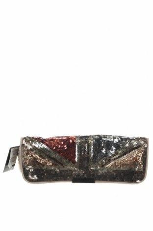 Дамска чанта Accessorize, Цвят Златист, Текстил, Цена 23,63лв.