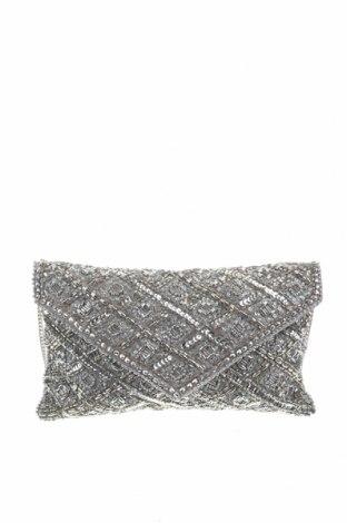 Дамска чанта Accessorize, Цвят Сив, Текстил, други материали, Цена 28,35лв.