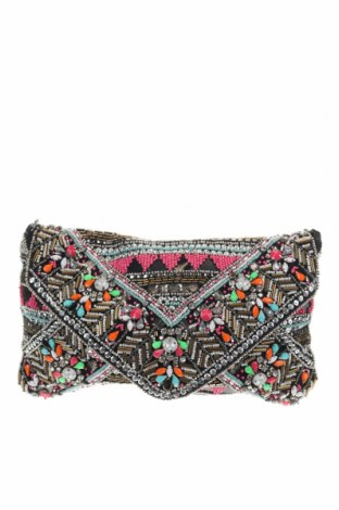 Дамска чанта Atmosphere, Цвят Многоцветен, Текстил, еко кожа, Цена 37,80лв.