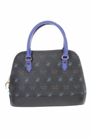 Дамска чанта Beverly Hills Polo Club, Цвят Черен, Еко кожа, Цена 48,00лв.