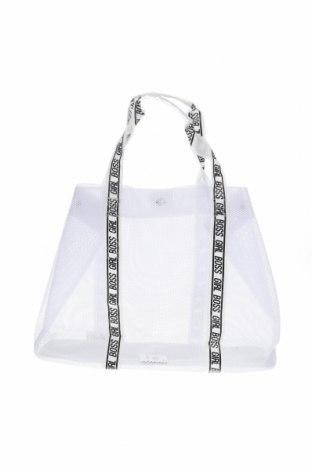 Дамска чанта Sinsay, Цвят Бял, Текстил, Цена 28,50лв.