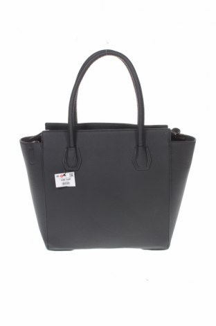 Дамска чанта Cropp, Цвят Черен, Еко кожа, Цена 44,25лв.