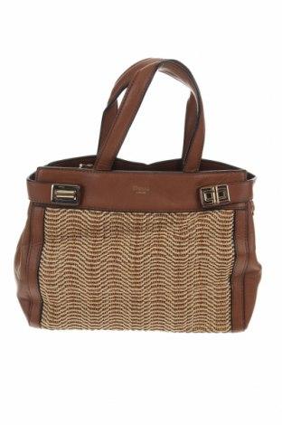 Дамска чанта, Цвят Бежов, Естествена кожа, Цена 39,69лв.