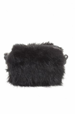 Дамска чанта Fornarina, Цвят Черен, Текстил, еко кожа, Цена 43,00лв.
