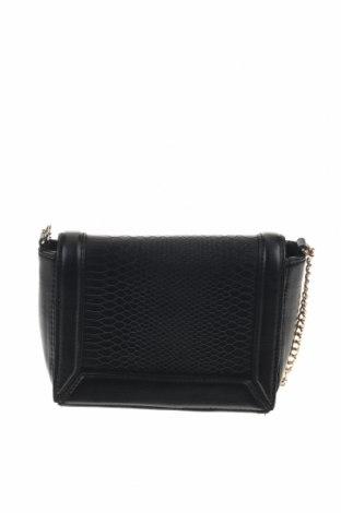 Дамска чанта H&M, Цвят Черен, Еко кожа, Цена 11,03лв.