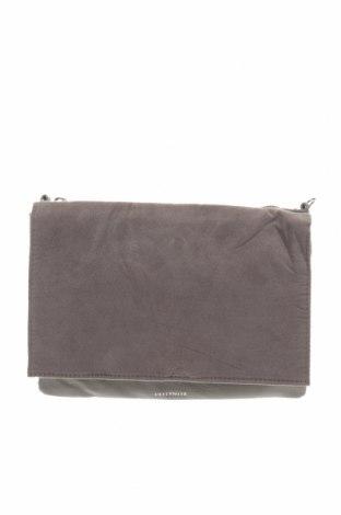 Дамска чанта H&M Divided, Цвят Сив, Еко кожа, текстил, Цена 25,20лв.