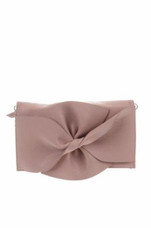 Дамска чанта Hallhuber, Цвят Розов, Еко кожа, Цена 58,80лв.