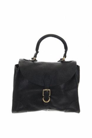 Дамска чанта John Lewis, Цвят Черен, Естествена кожа, Цена 47,88лв.