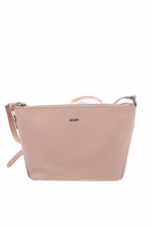 Дамска чанта Joop!, Цвят Розов, Естествена кожа, Цена 117,60лв.