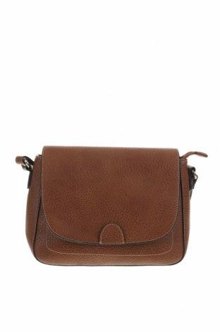 Дамска чанта L.Credi, Цвят Кафяв, Еко кожа, Цена 32,92лв.