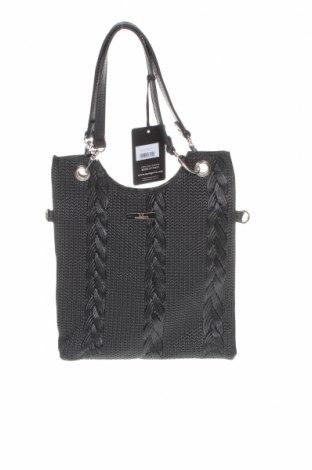 Дамска чанта Mangotti, Цвят Черен, Естествена кожа, Цена 48,07лв.