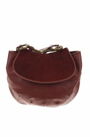Дамска чанта Nine West, Цвят Кафяв, Еко кожа, естествен косъм, Цена 44,89лв.