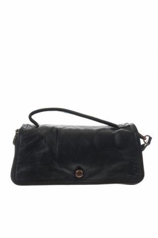 Дамска чанта Object, Цвят Черен, Естествена кожа, Цена 39,69лв.
