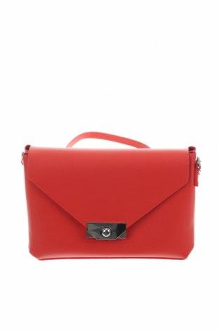 Дамска чанта Pull&Bear, Цвят Червен, Еко кожа, Цена 24,00лв.