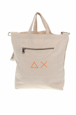 Дамска чанта SUN68, Цвят Бежов, Текстил, Цена 89,25лв.