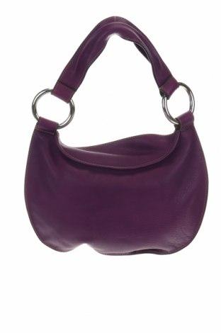 Дамска чанта Sequoia, Цвят Лилав, Естествена кожа, Цена 109,20лв.