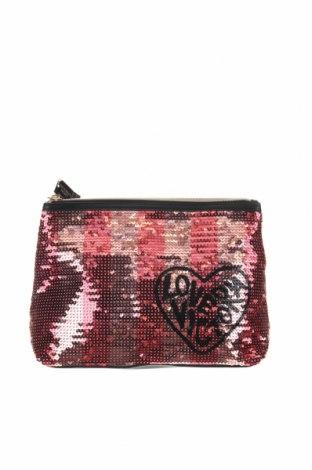 Дамска чанта Victoria's Secret, Цвят Червен, Еко кожа, текстил, Цена 32,55лв.