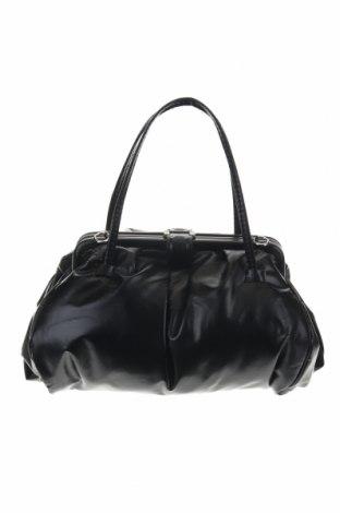 Дамска чанта Zara, Цвят Черен, Еко кожа, Цена 34,39лв.
