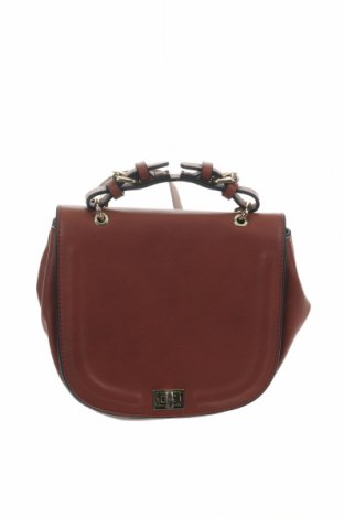Дамска чанта Zara, Цвят Кафяв, Еко кожа, Цена 31,50лв.