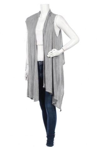 Дамска жилетка Gina Tricot, Размер M, Цвят Сив, Акрил, Цена 5,29лв.